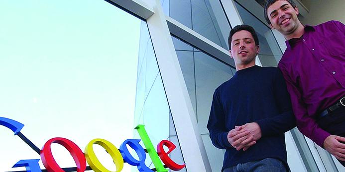 fondateurs de google