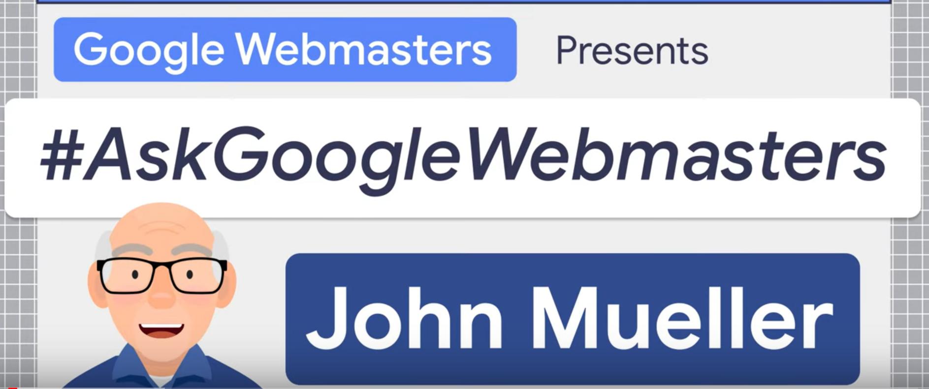 canoniques google john mueller
