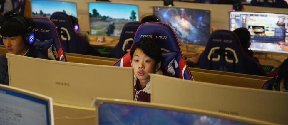 chine addiction jeux video