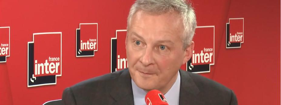 bruno le maire france inter gafa