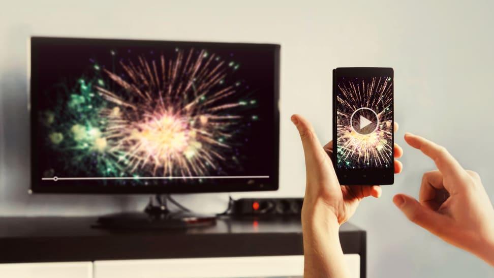 afficher l'écran de votre smartphone sur une tv