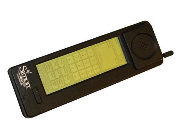 premier smartphone ibm simon phone