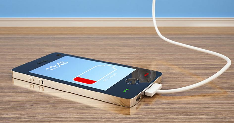 smartphones qui rechargent vite
