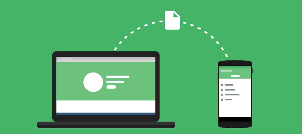 comment transférer des fichiers depuis un pc vers un smartphone